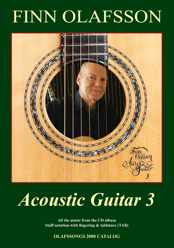 Acoustic Guitar 3 music bbook